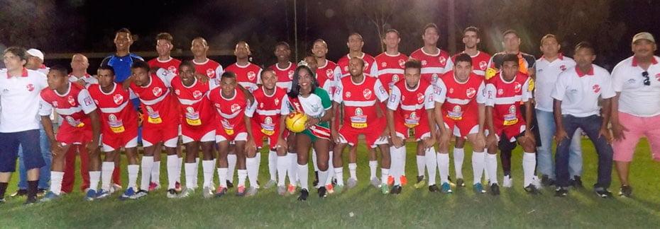 Seleção Barreirense, vencedora do confronto | Foto: Geraldo Bomfim/Boka de Kaeira