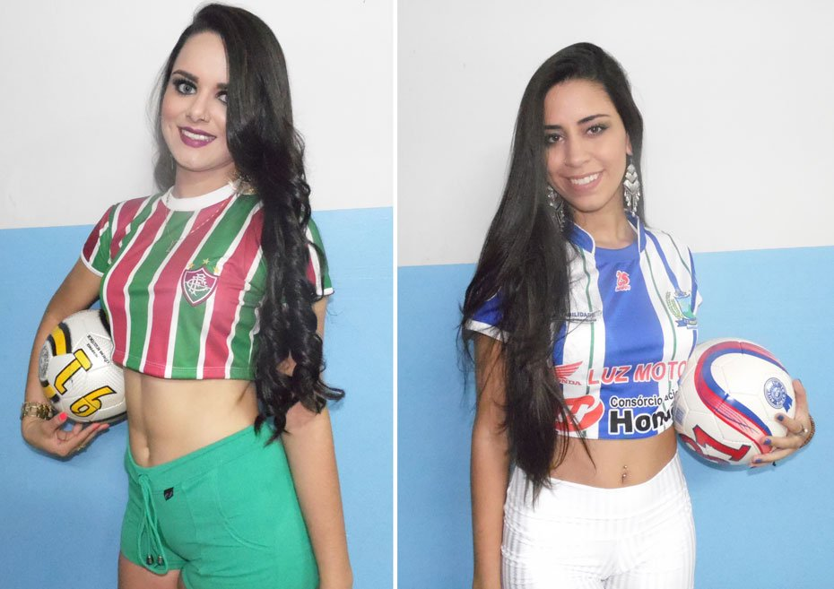 Bianca Lalesca Actis Oliveira - Esporte Clube Corintians / Ianna Ariely Fernandes Botelho - Esporte Clube Morada da Lua | Fotos: Osmar Ribeiro/Falabarreiras