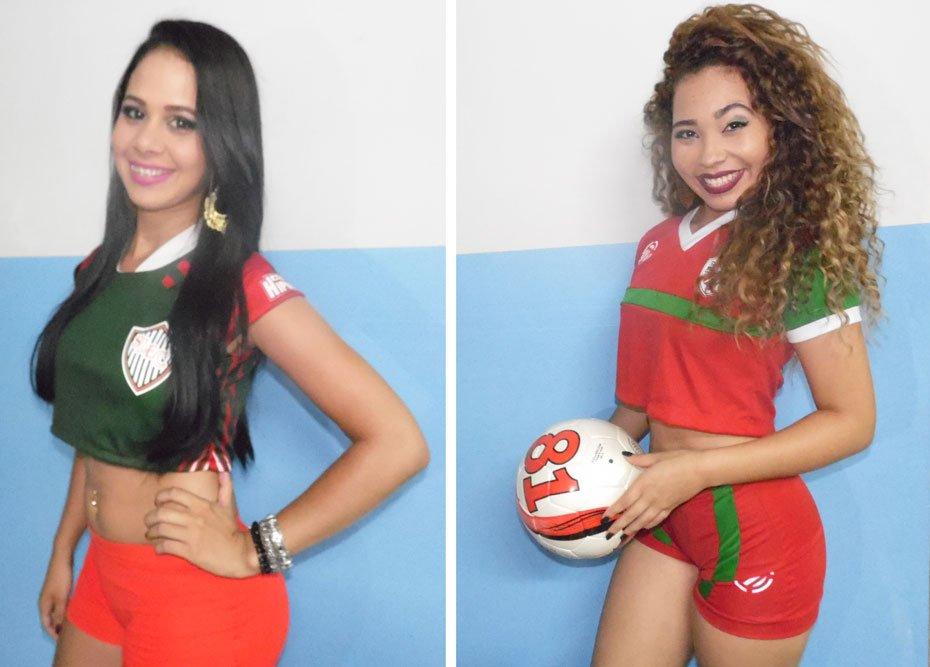 Josiele Pereira dos Santos - Santa Luzia Esporte Clube / Lorrany Nascimento dos Santos - Colonial Futebol Clube | Fotos: Osmar Ribeiro/Falabarreiras