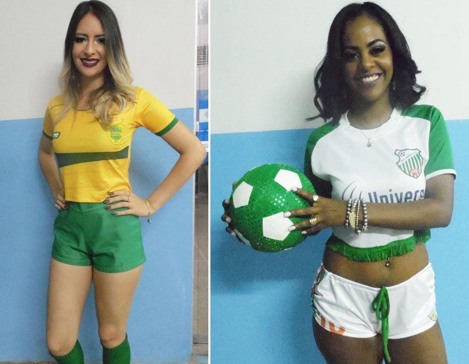 Sandi Nayara de Souza Ramos - Esporte Clube Vila Brasil / Uyara Cheila Jacó da Cunha - Esporte Clube Rio Verde (Vencedora) | Fotos: Osmar Ribeiro/Falabarreiras