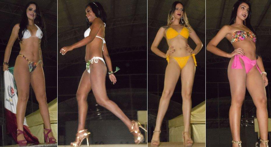Candidas em traje de banho | Fotos: Osmar Ribeiro/Falabarreiras