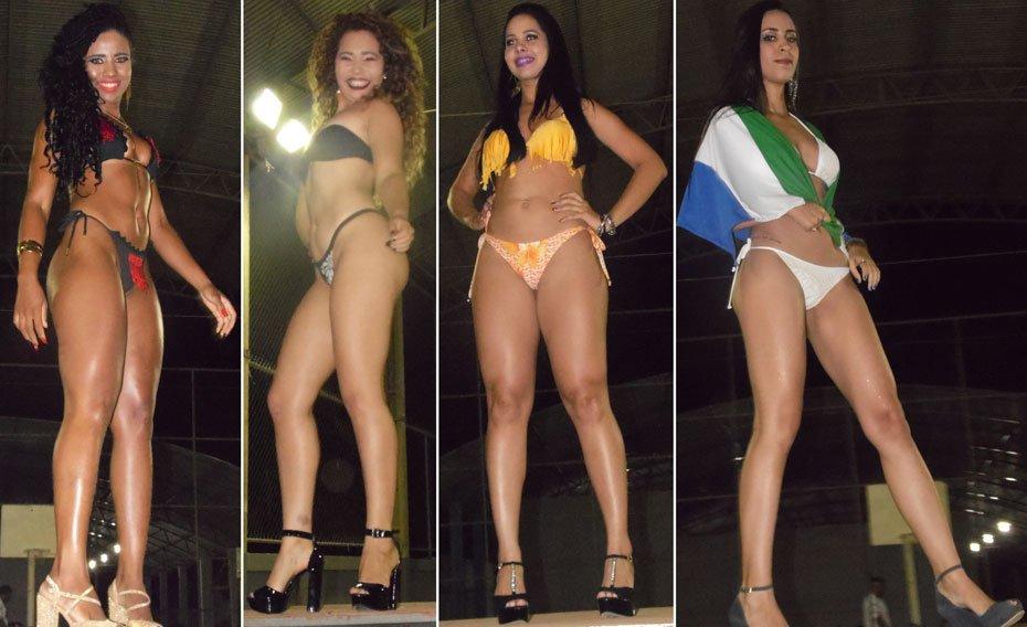 Candidatas em traje de banho | Fotos: Osmar Ribeiro/Falabarreiras