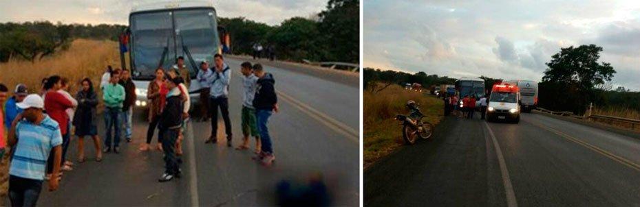 O Departamento de Polícia Técnica investiga o caso   Fotos: Blog Braga