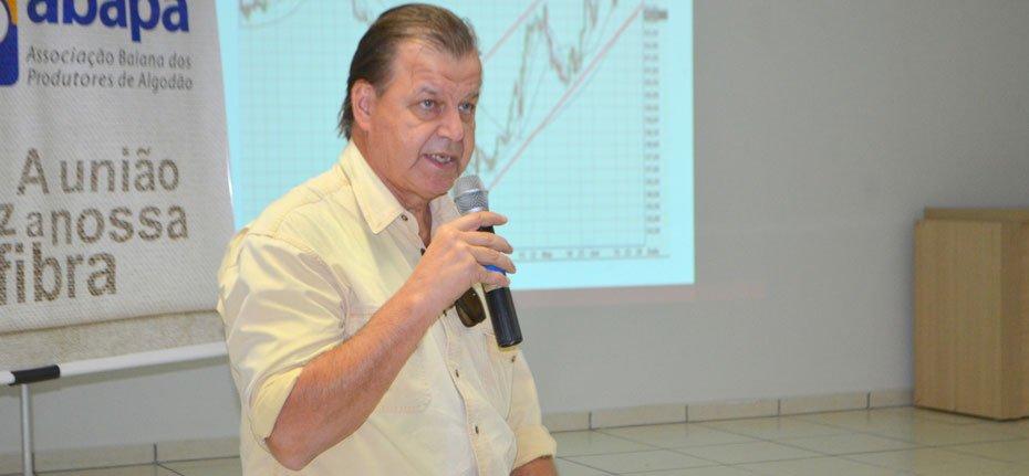 Conselheiro da Anea Cotton, Antonio Esteves | Foto: Virgília Vieira/Ascom Abapa