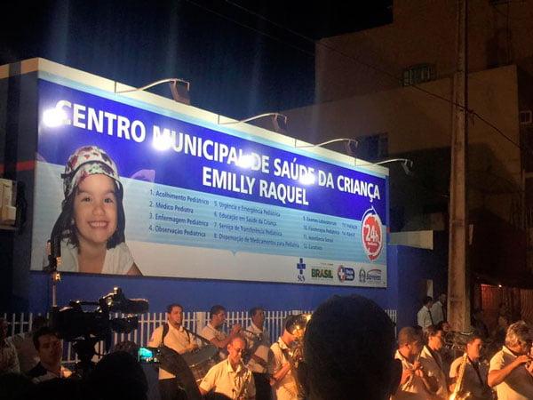A clínica foi entregue à população barreirense nesta sexta-feira (2) | Foto: Reprodução Facebook Kelly Magalhães