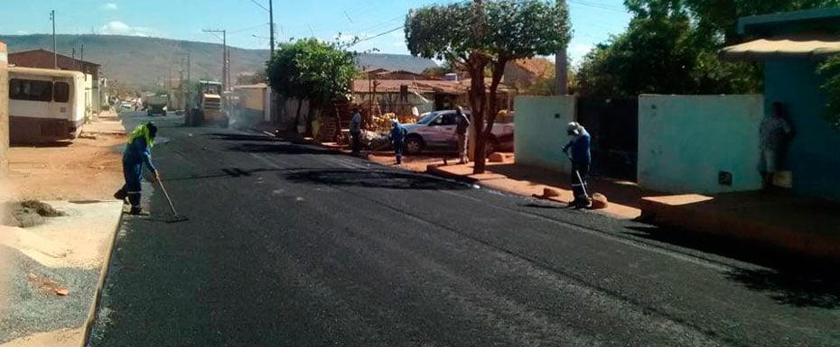 O bairro Santa Luzia recebe investimentos consideráveis | Foto: Dircom Barreiras