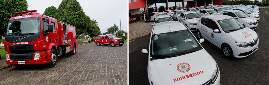 Corpo de Bombeiro está completando um ano de emancipação | Fotos:  Elói Corrêa/Manu Dias