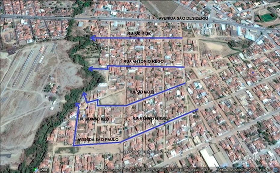 Mapa de Microdrenagem