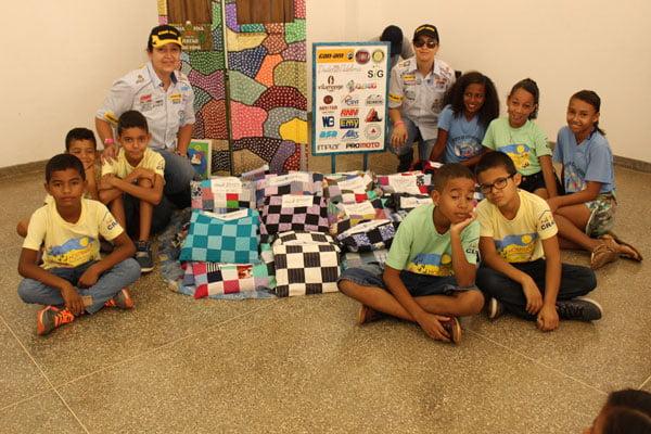 Projeto Ideia Fixa beneficiou a mais de 100 crianças atendidas pelo CRAS de LEM | Foto: Ascom LEM