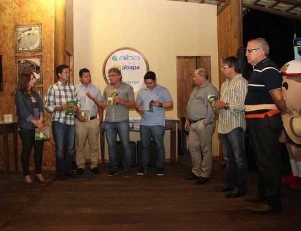 Lançamento da Cartilha Ambiental durante Fenagro | Foto: Virgília Vieira/Ascom Abapa