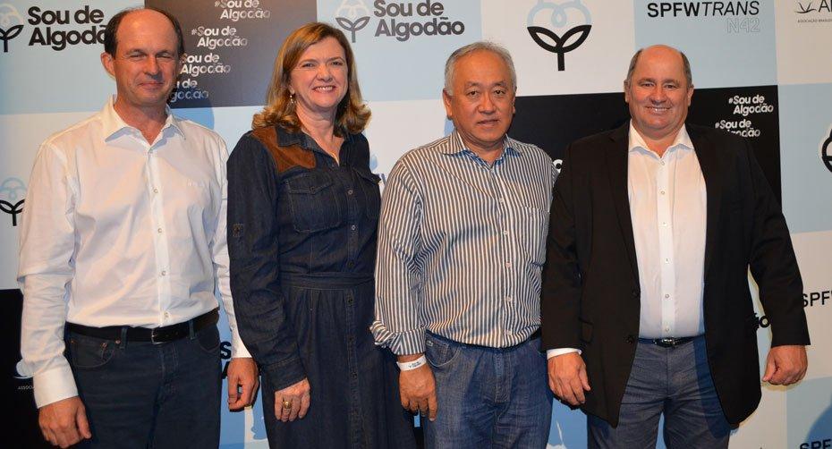 Os produtores de algodão da Bahia participaram do evento | Foto: Virgília Vieira