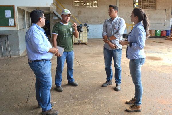 Um dos primeiros diagnósticos foi feito nas Unidades Produtoras do Grupo Mizote | Foto: Virgília Vieira | Ascom Abapa