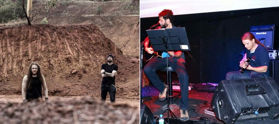 Rafael e Cleiton da banda Duovert | Fotos: Divulgação
