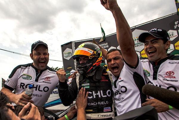 Marques conquistou duas vitórias nessa temporada | Foto: Bruno Terena/MS2