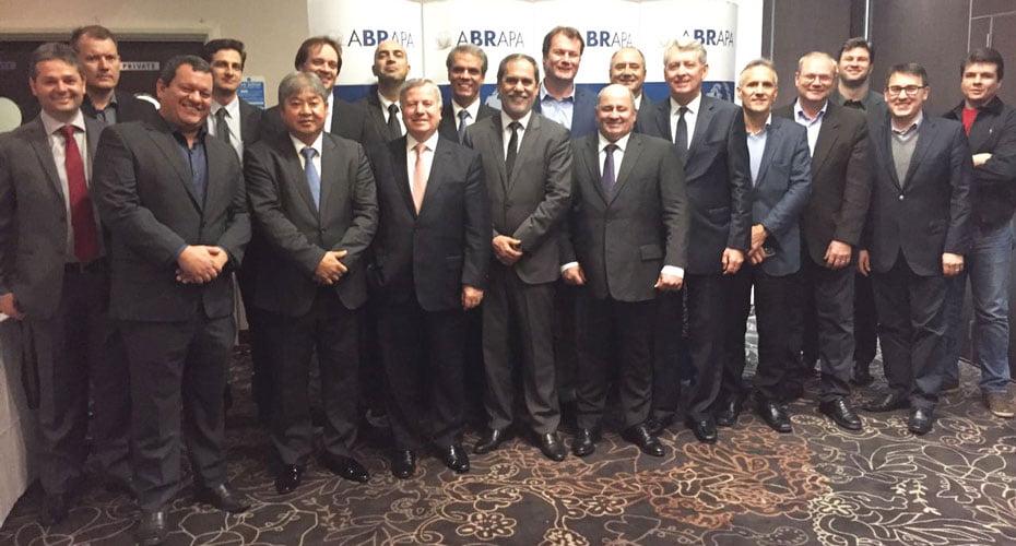 Representante de entidades e empresas do agronegócio | Foto: Abrapa