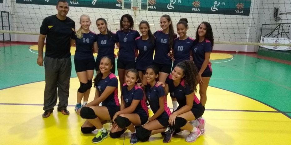 Equipe feminina ficou em primeiro lugar | Foto: Divulgação
