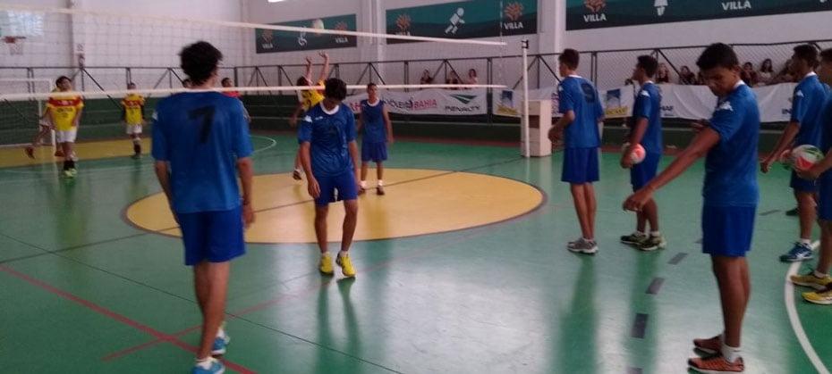 Jogo da equipe masculina | Foto: Divulgação