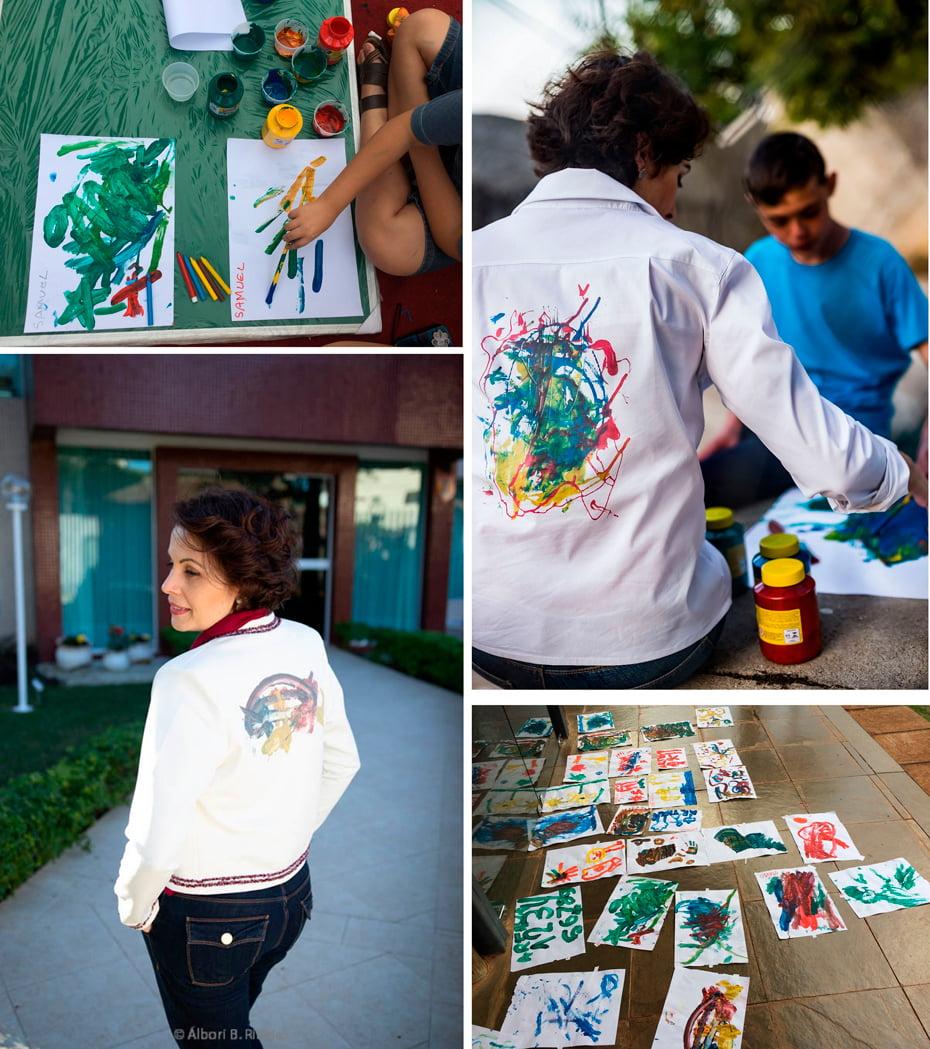 c5148f44f2 Crianças autistas assinam coleção de camisaria feminina - Fala Barreiras