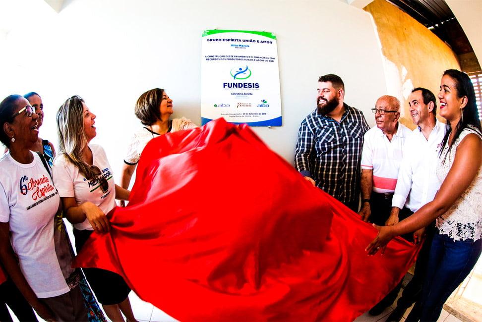 Resultado de imagem para Com ajuda de produtores rurais, Grupo Espírita União e Amor amplia sua sede