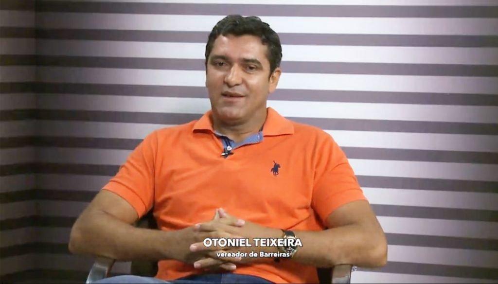 Nota de felicitação pelo aniversário do vereador Otoniel Teixeira