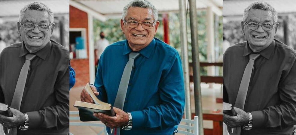 Nota de pesar pelo pastor Pedro Gomes